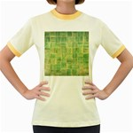 Abstract 1846980 960 720 Women s Fitted Ringer T-Shirt