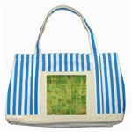 Abstract 1846980 960 720 Striped Blue Tote Bag