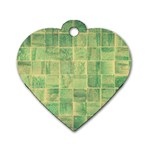 Abstract 1846980 960 720 Dog Tag Heart (Two Sides)