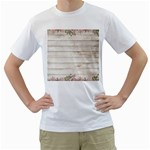 On Wood 2188537 1920 Men s T-Shirt (White) (Two Sided)