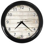 On Wood 2188537 1920 Wall Clock (Black)