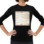 On Wood 2188537 1920 Women s Long Sleeve Dark T-Shirt