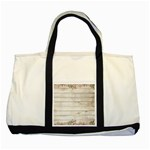 On Wood 2188537 1920 Two Tone Tote Bag