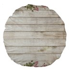 On Wood 2188537 1920 Large 18  Premium Round Cushions