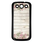 On Wood 2188537 1920 Samsung Galaxy S3 Back Case (Black)