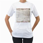 On Wood 2188537 1920 Women s T-Shirt (White)
