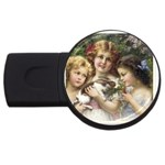 Vintage 1501558 1280 USB Flash Drive Round (4 GB)
