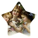 Vintage 1501558 1280 Star Ornament (Two Sides)