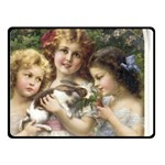 Vintage 1501558 1280 Double Sided Fleece Blanket (Small)