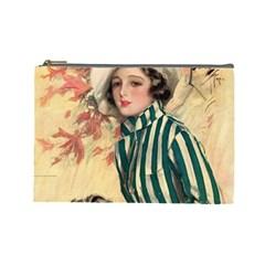 Cosmopolitan Fc November 1917 Cosmetic Bag (large) by vintage2030