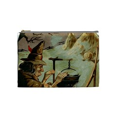 Witch 1461958 1920 Cosmetic Bag (medium) by vintage2030