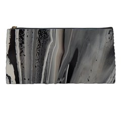 Black Marble Pencil Cases by WILLBIRDWELL