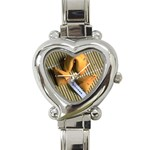 FORTUNE COOKIES Chef Bakery Women  Heart Charm Watch