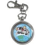 RV Camping Travel Trailer Motorhome Key Chain Watch