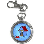 DOG HOUSE Pet Puppy Girls Women Kids Key Chain Watch