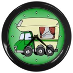 RV Travel Trailer Motorhome Camping Wall Clock