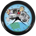 RV Camping Travel Trailer Motorhome Wall Clock