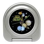 SOLAR SYSTEM Galaxy Space Astrology Desk Alarm Clock