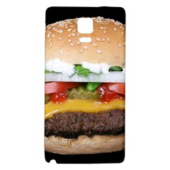 Abstract Barbeque Bbq Beauty Beef Samsung Note 4 Hardshell Back Case by Samandel