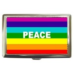 PEACE Rainbow Flag Gifts  Cigarette Money Case Box