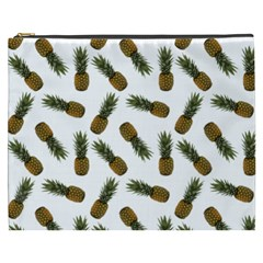 Pinapples Cosmetic Bag (xxxl) by snowwhitegirl