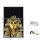 KING TUT Egypt Pharaoh Tomb Box Flip Top Lighter