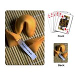 FORTUNE COOKIES Chef Bakery Women  Playing Card