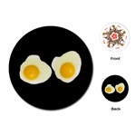 EGG Chef Cook Bakery Women Girls Kids Round Playing Card