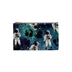 Astronaut Space Galaxy Cosmetic Bag (small) by snowwhitegirl