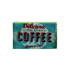 Delicious Coffee Cosmetic Bag (xs) by snowwhitegirl