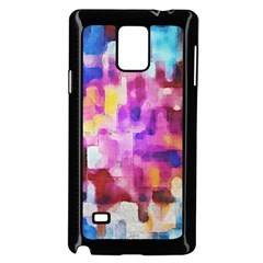 Blue Pink Watercolors                                              Samsung Galaxy Note 4 Case (color) by LalyLauraFLM