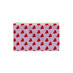 Kawai Hearts Cosmetic Bag (xs) by snowwhitegirl