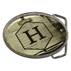 Fabric Pattern Textile Clothing Belt Buckles by Sapixe