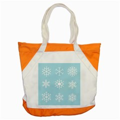 Snowflakes Winter Graphics Weather Accent Tote Bag