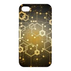 Block Chain Data Records System Apple Iphone 4/4s Premium Hardshell Case
