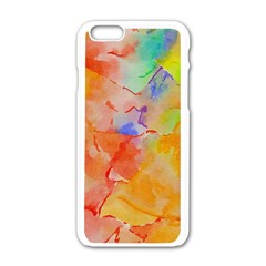 Orange Red Yellow Watercolors Texture                                                  Motorola Moto E Hardshell Case by LalyLauraFLM