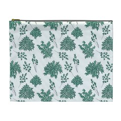 Flower Pattern Pattern Design Cosmetic Bag (xl)