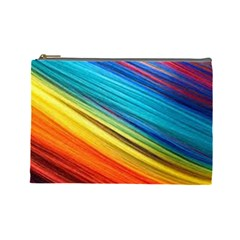 Rainbow Cosmetic Bag (large) by NSGLOBALDESIGNS2