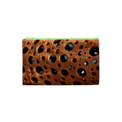 Texture Pattern Wallpaper Background Pattern Holes Cosmetic Bag (xs) by Samandel