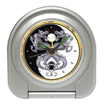 YIN YANG DRAGONS Tai Chi Art Design Desk Alarm Clock