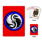 YIN YANG DRAGONS Art Design Tai Chi Playing Card