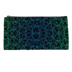 Background Lines Pattern Line Art Pencil Cases by Nexatart