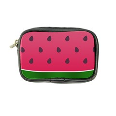 Watermelon Fruit Summer Red Fresh Coin Purse by Nexatart