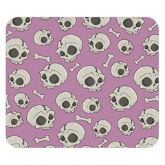 Halloween Skull Pattern Double Sided Flano Blanket (small)