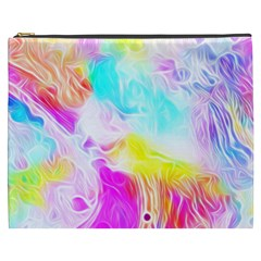 Background Drips Fluid Colorful Cosmetic Bag (xxxl) by Sapixe