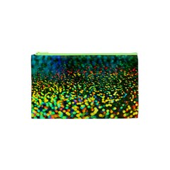 Construction Paper Iridescent Cosmetic Bag (xs) by Jojostore