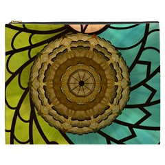 Kaleidoscope Dream Illusion Cosmetic Bag (xxxl) by Jojostore