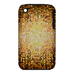 Yellow And Black Stained Glass Effect Iphone 3s/3gs by Jojostore
