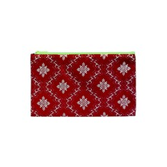Chorley Weave Red Cosmetic Bag (xs)