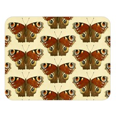 Butterfly Butterflies Insects Double Sided Flano Blanket (large)